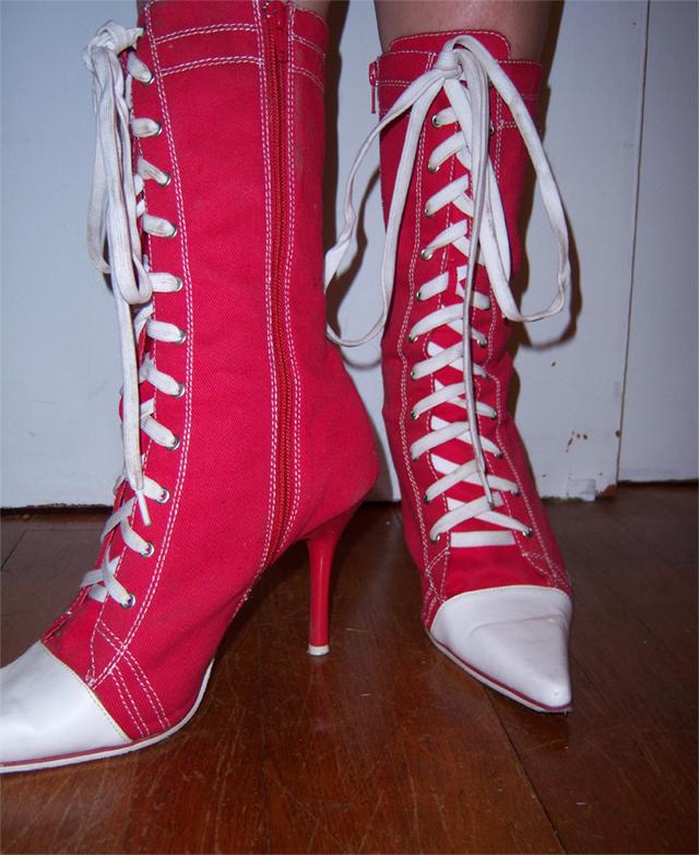 High heel Chuck Taylor's