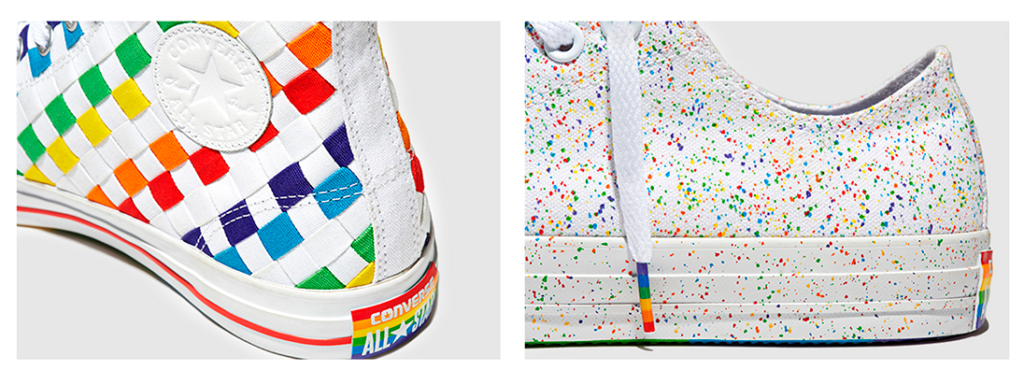 Converse pride shoes